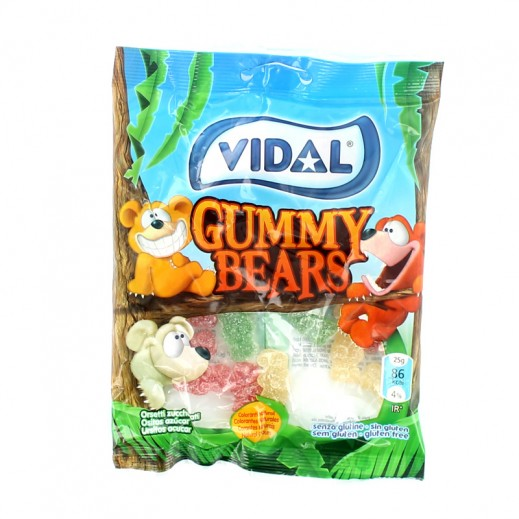 Vidal Gummy Bears Jelly 100 g