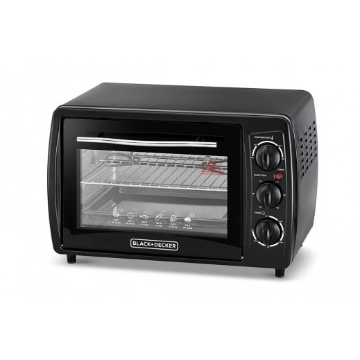 Black & Decker Oven 19 L 1380W - Black