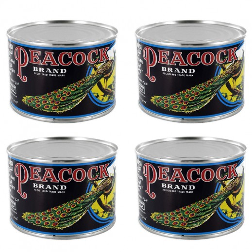 Value Pack - Peacock Pineapple Broken Slices 454 g (4 pieces)