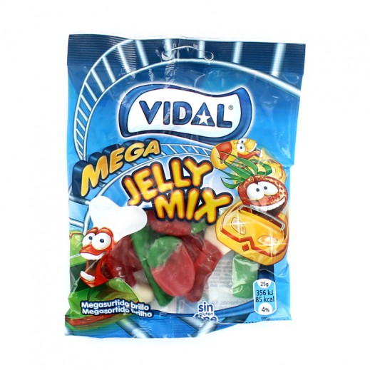 Vidal Mega Jelly Mix 100 g
