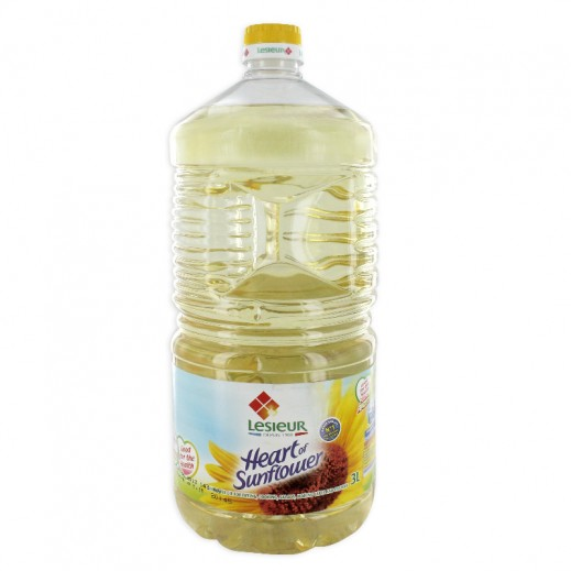 Lesieur Sunflower Oil 3Ltr