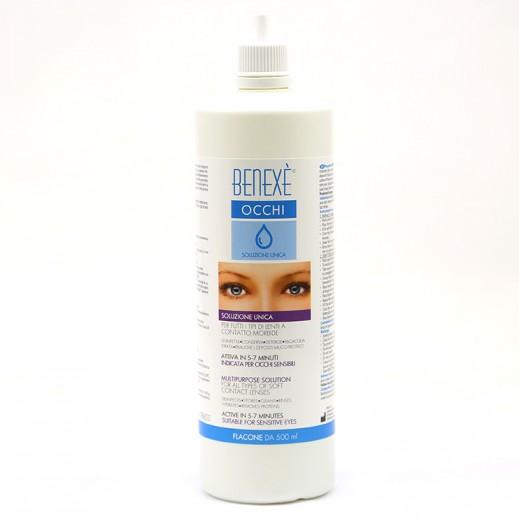 Benexe Occhi Multipurpose Solution For Soft Contact Lenses 500 ml
