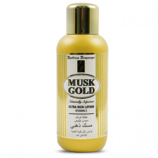 Bettina Brenner Musk Gold Hand & Body Lotion 500 ml
