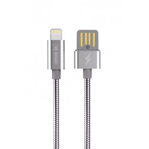 WK Design Lightning Cable for Apple 1 M - Silver