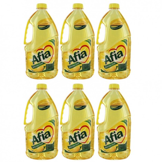 Wholesale - Afia Corn Oil Pet Bottle 1.8 L (6 pieces)