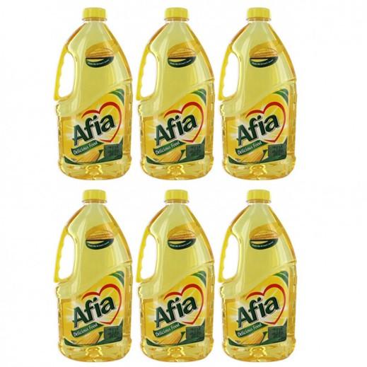 Wholesale - Afia Corn Oil Pet Bottle 1.8 ltr (6 pieces)