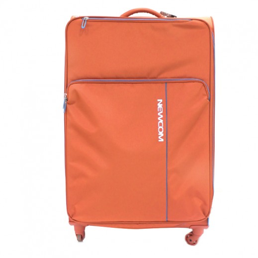 Newcom Soft Spinner Trolly Case Large - Orange