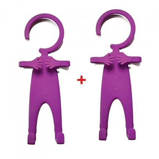 Buy 1 Get 1 Free Flexible Cellphone Holder Purple