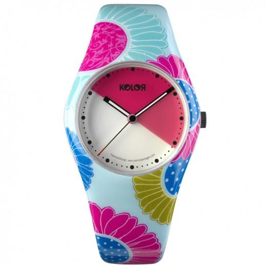 NOON COPENHAGEN Plastic Watch, Quartz, KOLOR  For Ladies