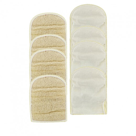 Value Pack - Falcon Crown Loofah Glove Square (3 pieces)