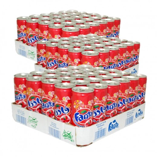 Wholesale - Fanta Strawberry Can330 ml (3 x 30 pieces)