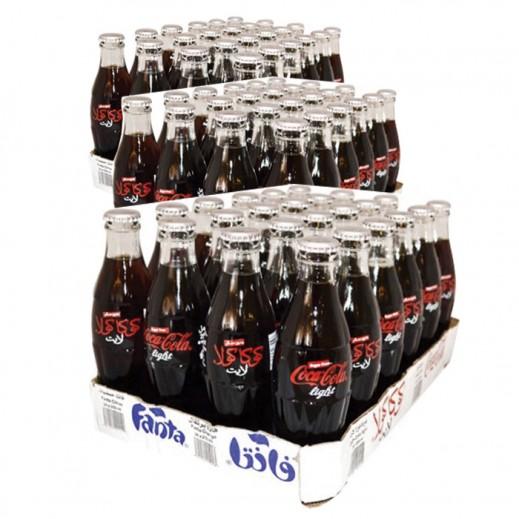 Wholesale - Coca Cola Light Bottle 250 ml (3 x 24 pieces)