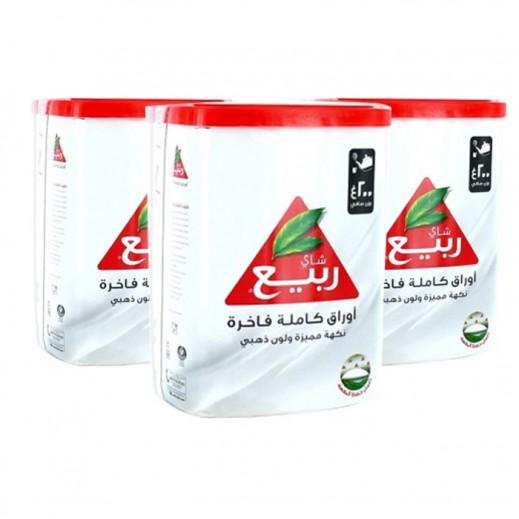 Rabea Premium Full Leaf Loose Tea 3 x 200 g