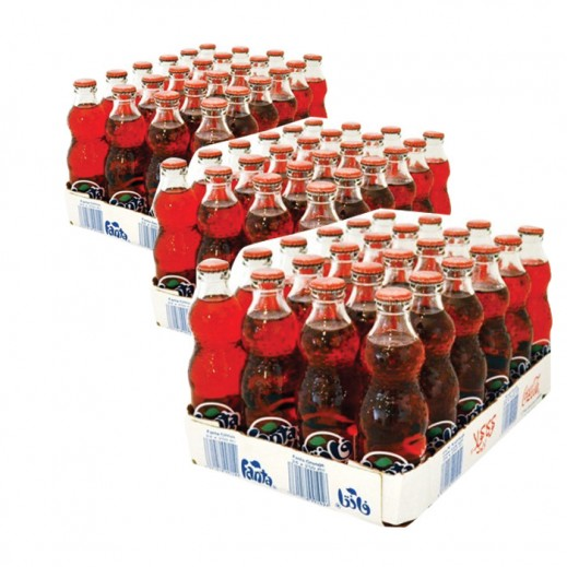 Wholesale - Fanta Strawberry Bottle 250 ml (3 x 24 pieces)