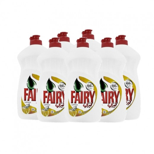 Value Pack - Fairy Dish Wash Liquid With Lemon 500 ml (6 pieces)