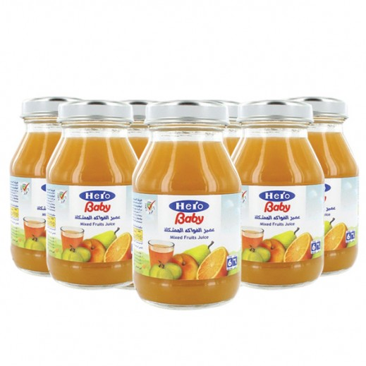 Wholesale - Hero Baby Food Juice Mixed Fruit 130 ml (12 pieces)