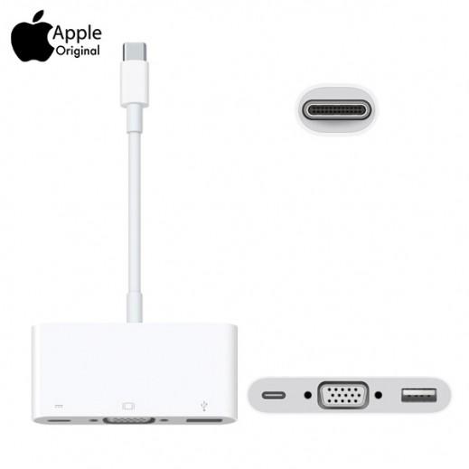 Apple USB-C to VGA Multi-Port Adaptor MJ1L2ZM/A (Original Apple Product)