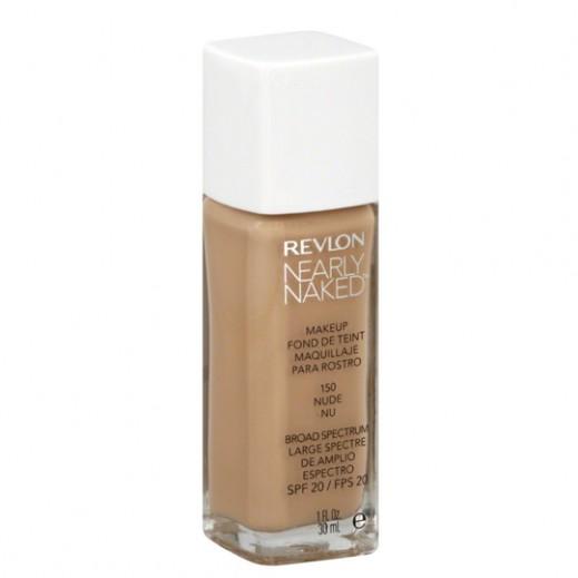 Revlon Nearly Naked Makeup Foundation Nude (No 150)