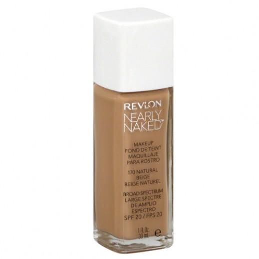 Revlon Nearly Naked Makeup Foundation Natural Beige (No 170)