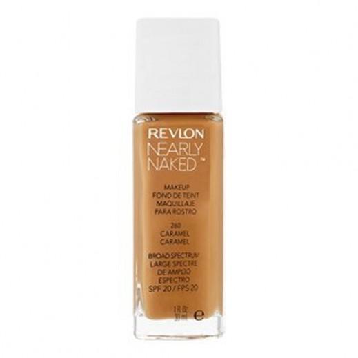 Revlon Nearly Naked Makeup Foundation Caramel (No 260)