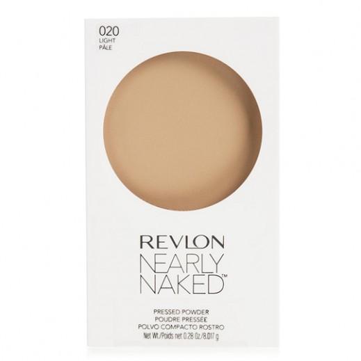 Revlon Nearly Naked Pressed Powder Light (No 02)