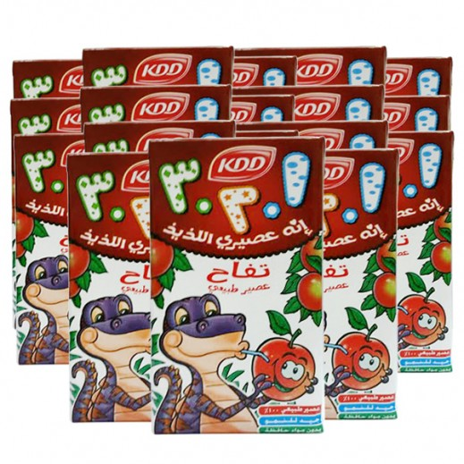 KDD Apple Juice 125 ml (40 pieces)