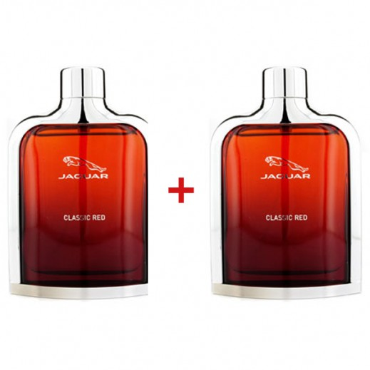 Set Of 2 Jaguar Classic Red EDT For Him 100ml