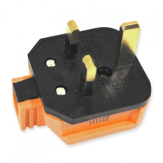 Permaplug UK Style Top Plug Orange