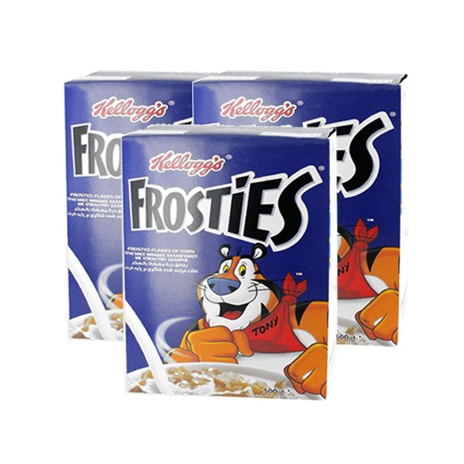 Value Pack-Kelloggs Frosties 3 x 500 g