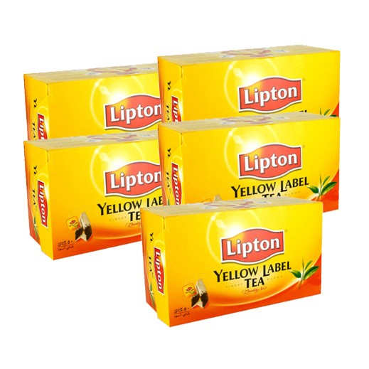Lipton Yellow Label Black Tea 4 x 50 Tea Bags