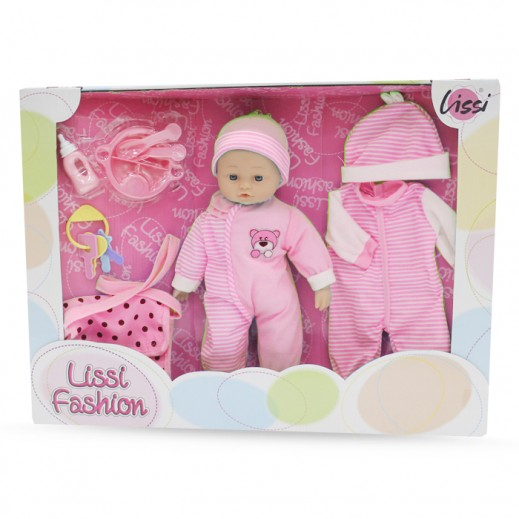 Lissi 41CM Soft baby Doll Set (Girls)