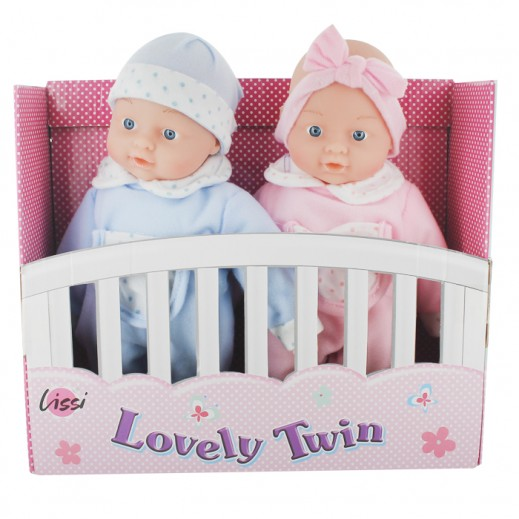 Lissi 28CM Twin Baby Doll