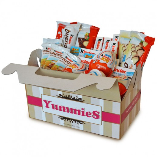 Yummies Kinder Box