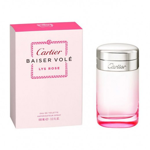 Baiser Vole Lys Rose Cartier EDT Lady 100 ml