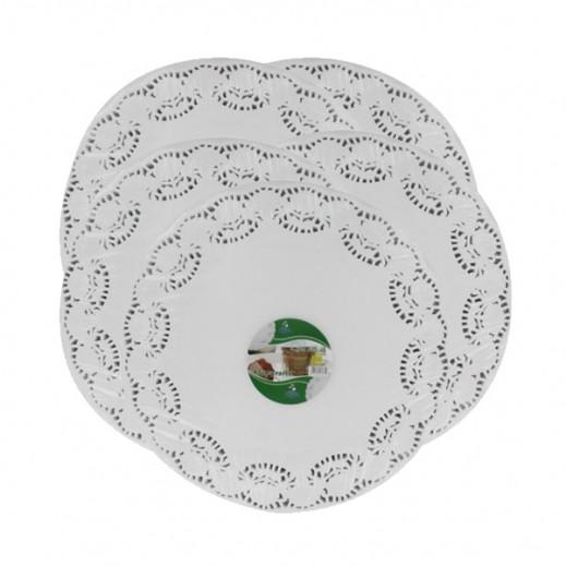 "Falcon Crown Round Doyley Paper 9.5"" (250 pieces)"