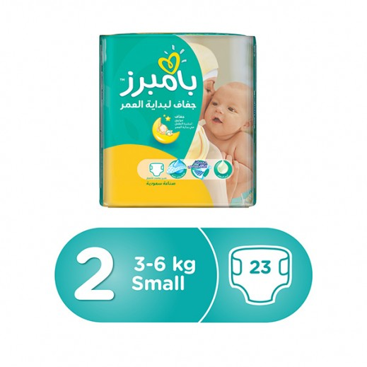 Pampers New Baby Dry Diapers, Size 2, Mini, 3-6 kg 23 Pieces