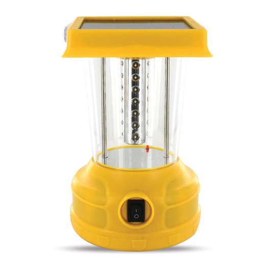 Sumo Solar Rechargeable LED Lantern 4 V - Yellow