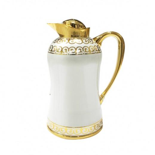 Mydot Deluxe Flask 0.350 ml White Gold