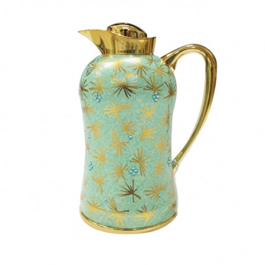 Mydot Deluxe Flask 1 Ltr Green Gold