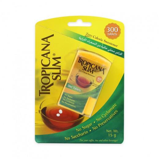Tropicana Slim Zero Calories Sweetener 300 tablets 15 g