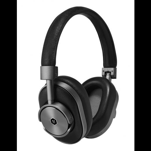 Master & Dynamic Wireless Over-Ear Headphones - Gunmetal & Black - delivered by New Market