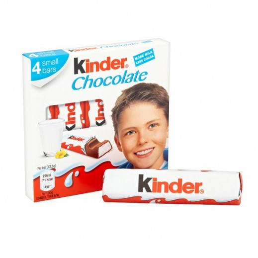 Kinder Chocolates 4 Bars 50 g