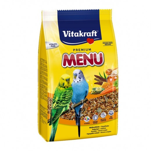 VitaKraft Menu Jod Vital For Budgies 500 g