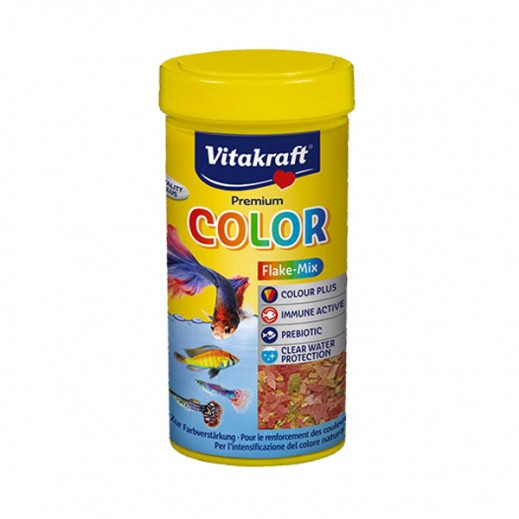 VitaKraft (Fish Food) Color Flake Mix 250 ml