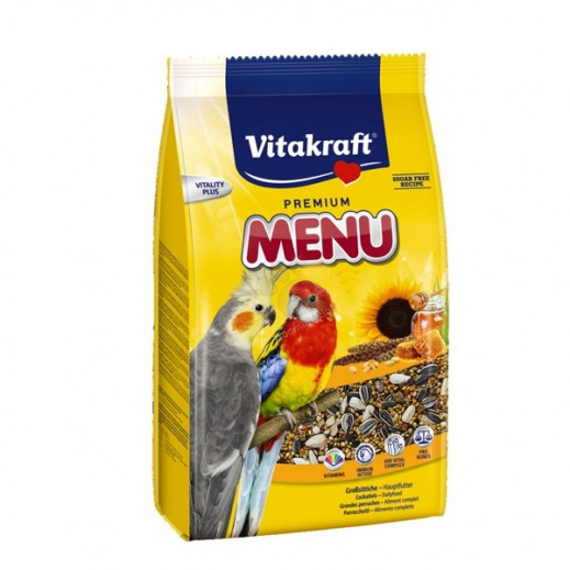 VitaKraft (Bird Food) Menu Honey Food Cocktiel 1 kg