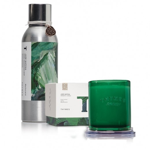 Jade Matcha Home Set Home Fragrance Mist + Candle