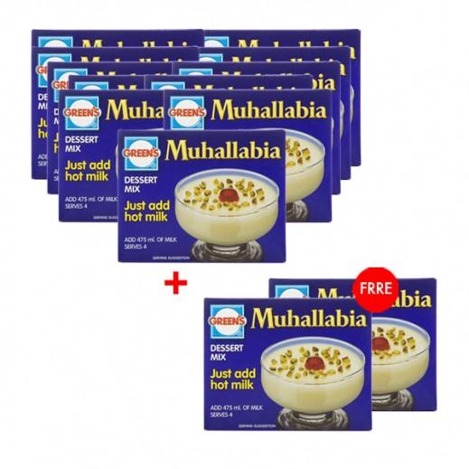 Greens Muhallabia Dessert Mix 85 g (10+2 Free)