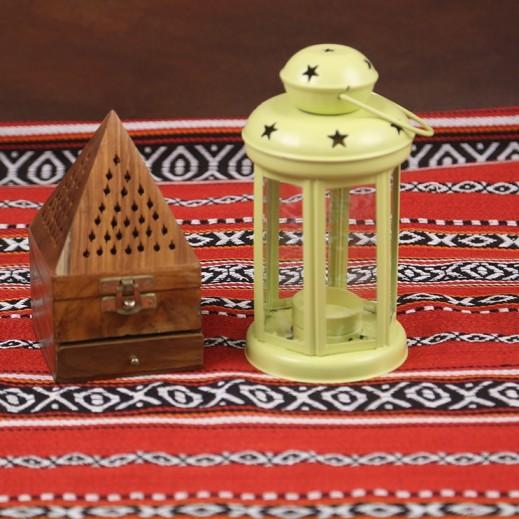 Ramadan Candle Lantern - Green