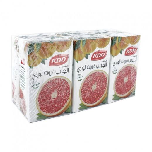 KDD Pink Grapefruit Juice 6 x 250 ml
