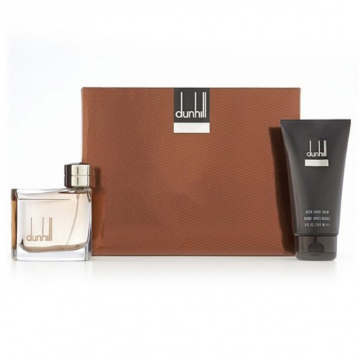 Dunhill Gift Set For Men (Brown EDT 75ml + After Shave 150ml)